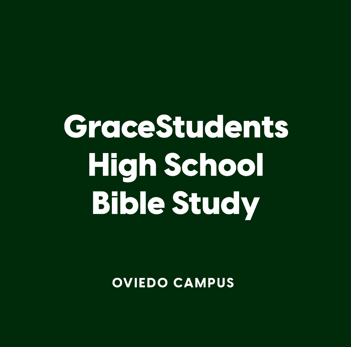 Oviedo High School Bible Study