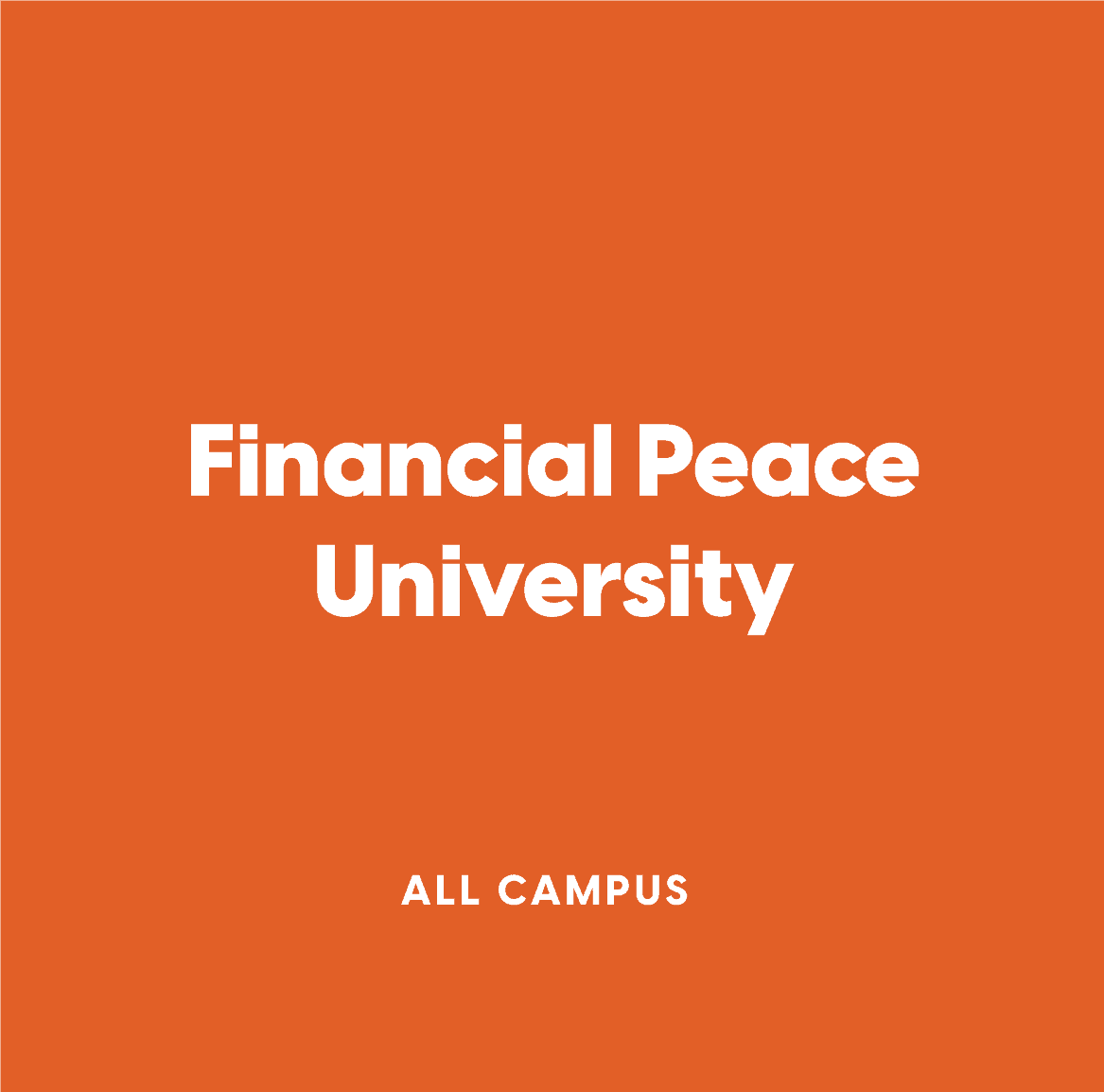 All-Campus Financial Peace University