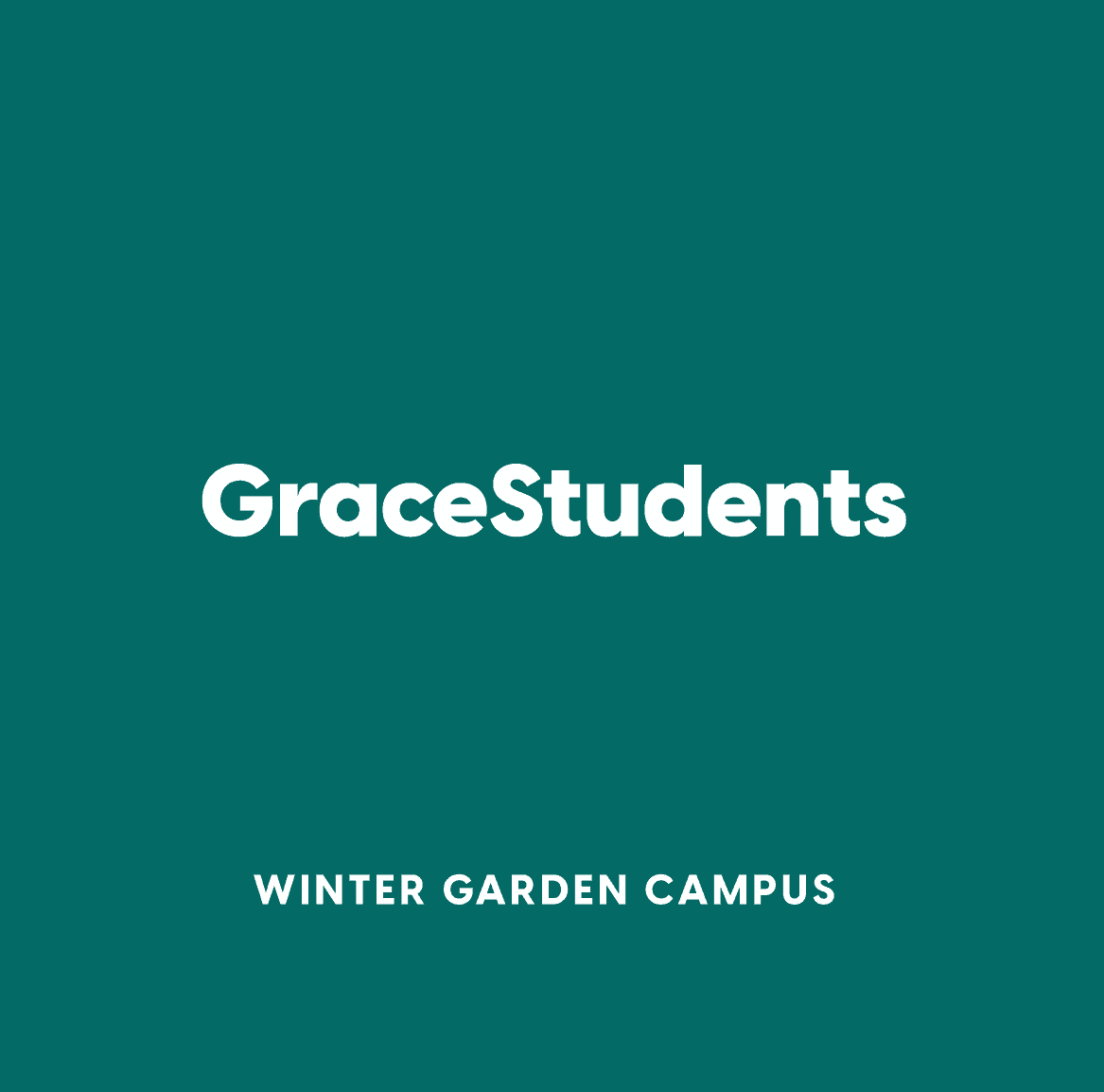 Winter Garden GraceStudents