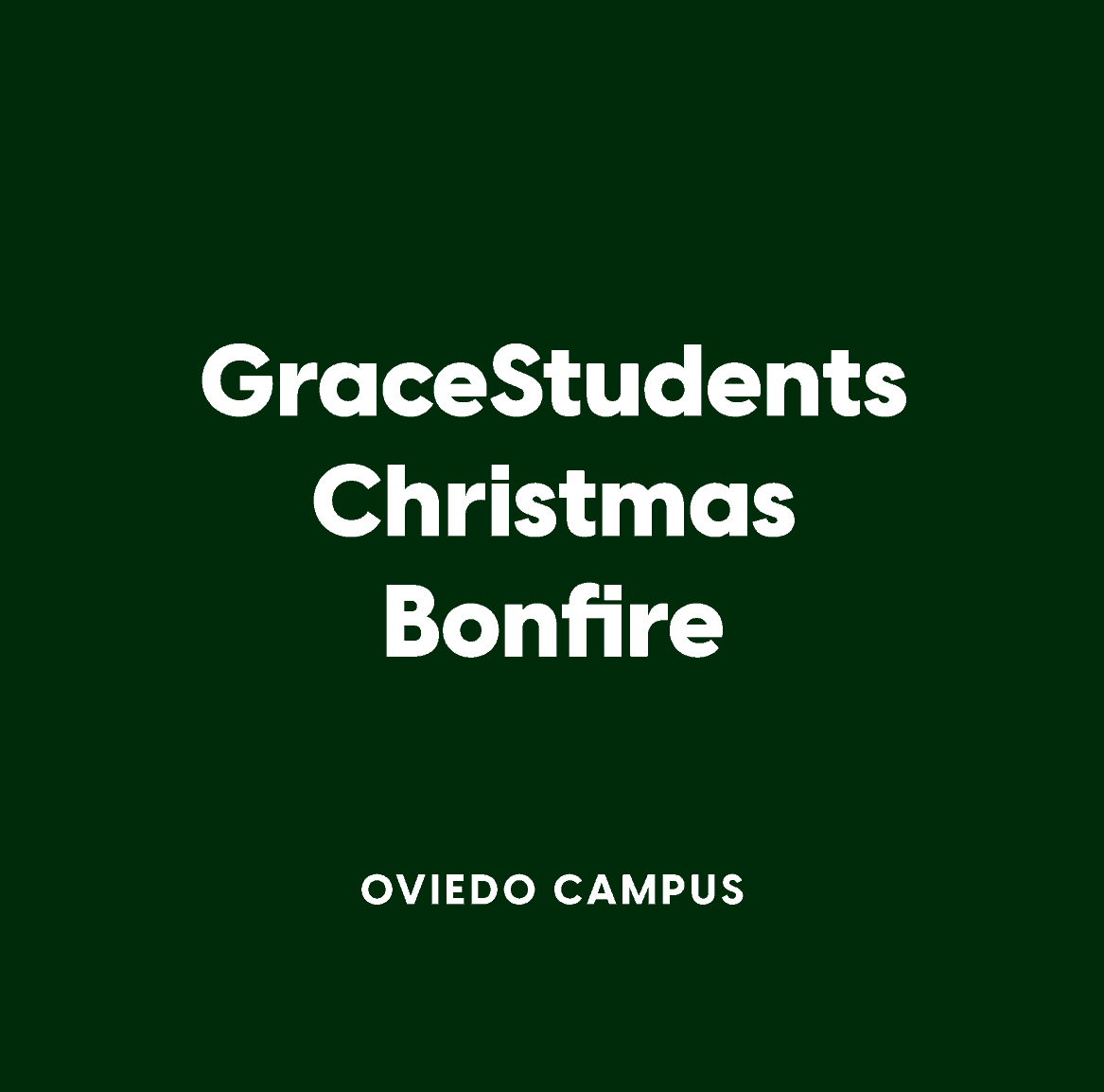 Oviedo GraceStudents Christmas Bonfire