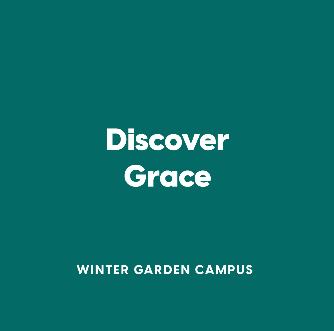 Winter Garden Discover Grace