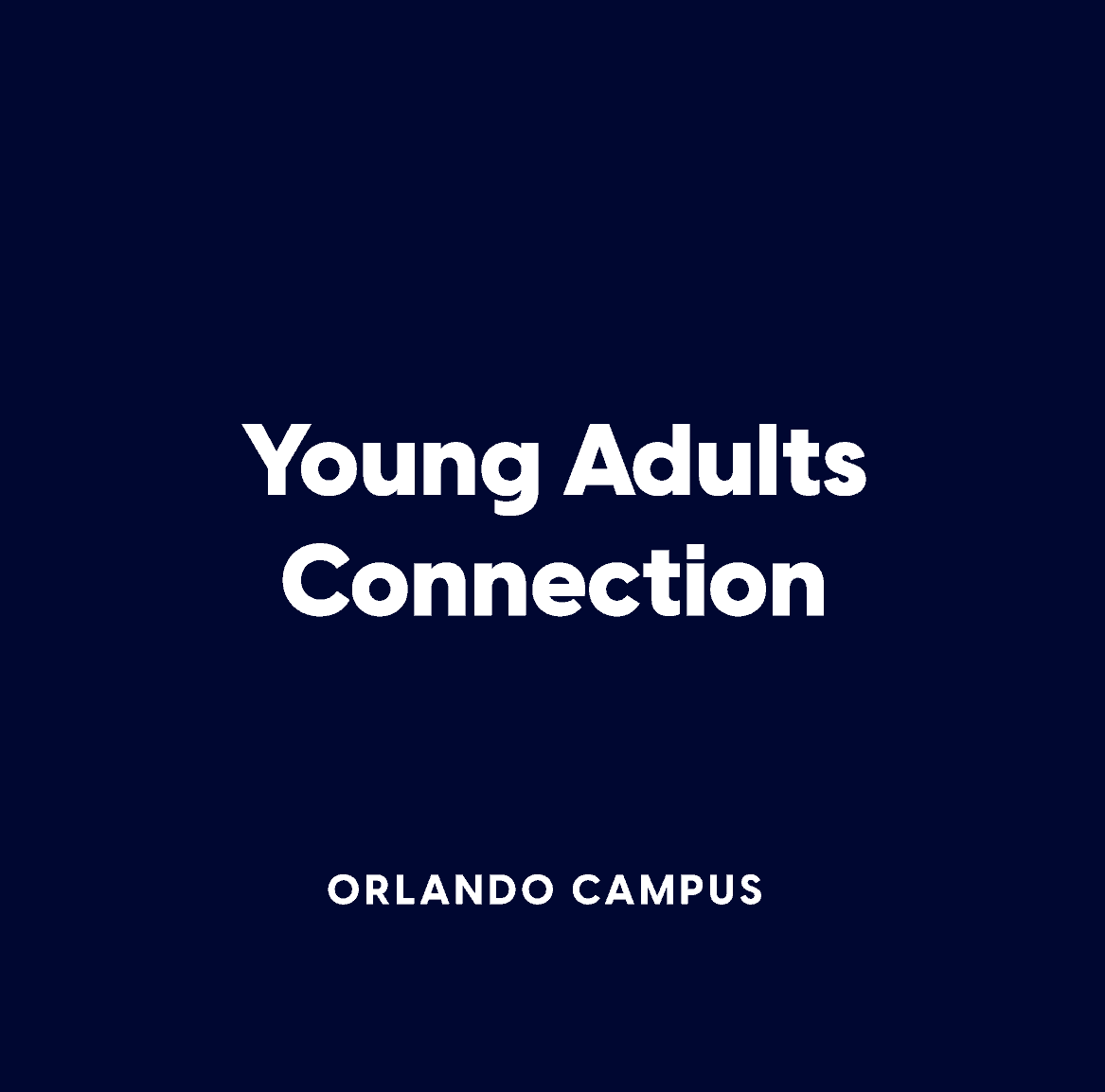 Orlando Young Adults Connection