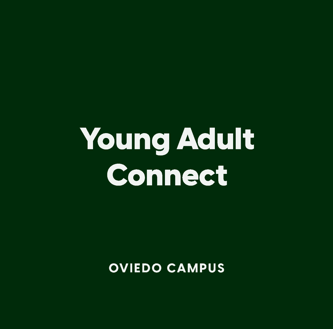 Oviedo Young Adult Connect